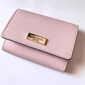 Kate Spade Pale Pink Card Holder Wallet